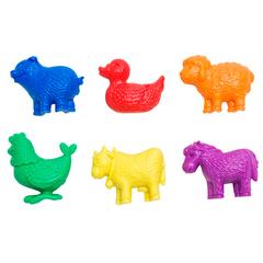 Счетный материал фигурки Животные фермы, Edx education 13200C