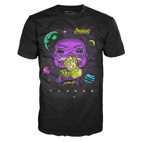 Футболка Funko POP and Tee: Infinity War: Thanos (M)