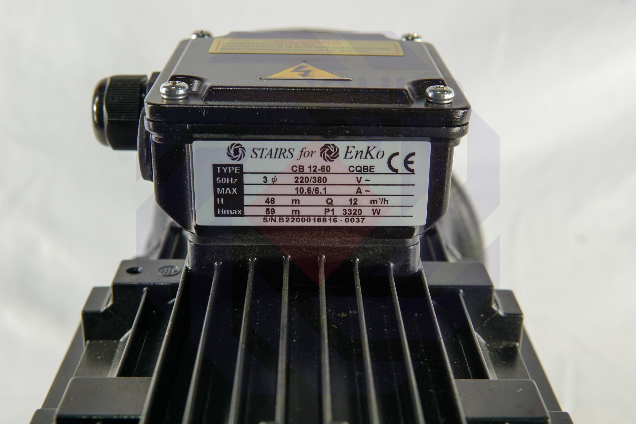 Насос повысительный STAIRS CB 12-60
