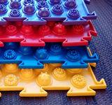 Массажный коврик Колючки (Акупунктурный) жесткий модульный коврик-пазл