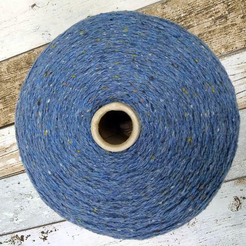 Твид  TORTELLI 250 темно-голубой