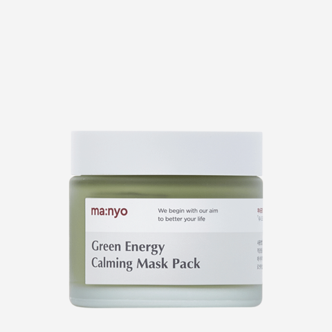Купить Manyo Factory GREEN ENERGY CALMING MASK PACK - Маска для лица успокаивающая