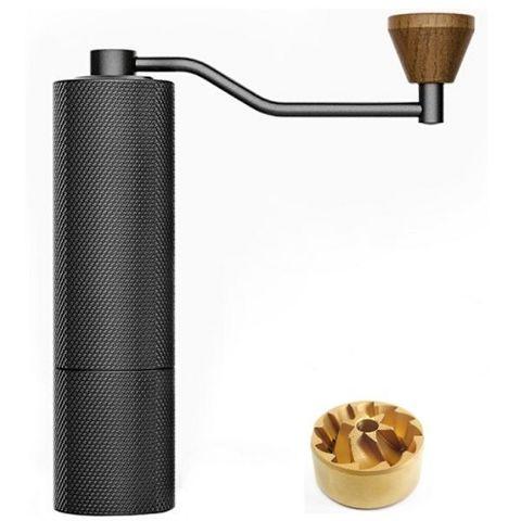 Кофемолка Timemore Slim black  с титановыми жерновами