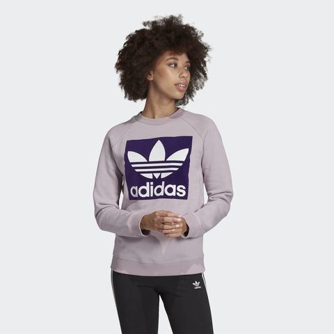 Свитшот женский adidas ORIGINALS TREFOIL