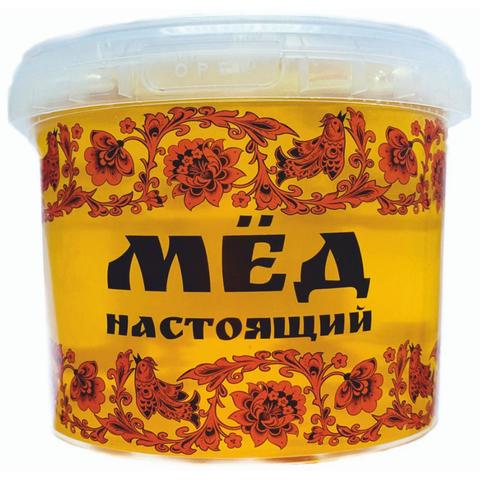 Мед донниковый ПЭТ Пчёлкин мёд, 1000г