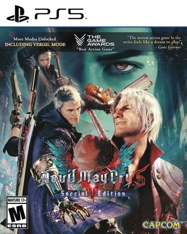 Devil May Cry 5. Special Edition (PS5, русские субтитры)