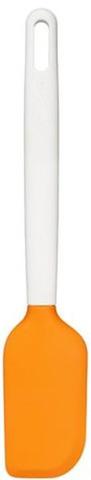 Скребок кулинарный Fiskars Functional Form 1023615 белый/оранжевый