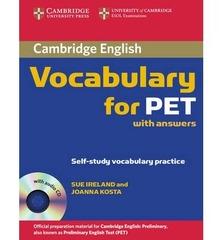C Vocabulary for PET Bk +ans +D