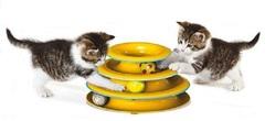 """Игрушка для кошек Petstages Трек  """"3 этажа"""" основание 24 см"""