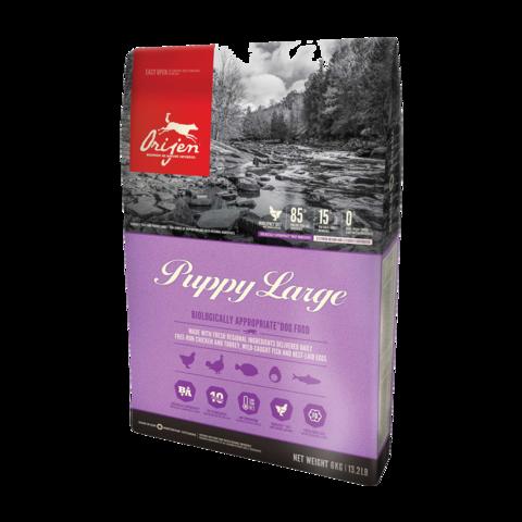 Orijen Puppy Large Сухой корм для щенков крупных пород Цыпленок беззерновой