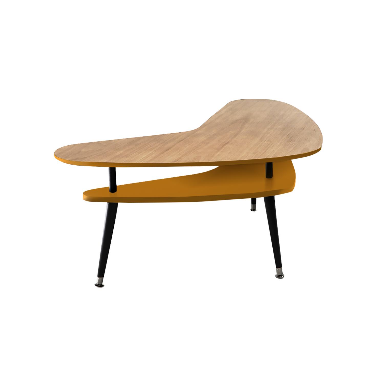 Журнальный стол Бумеранг дуб - вид 10