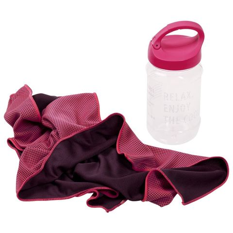 Weddell Cooling Towel, pink