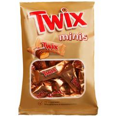 Шоколадный батончик Twix мини 184 г