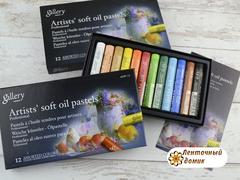 Профессиональная мягкая масляная художественная пастель MOPV-12 (набор)