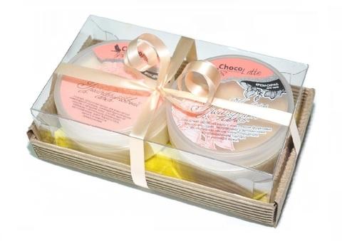 Набор подарочный №12 для тела Грейпфрут (крем-скраб Конфитюр Грейпфрут, Йогурт Грейпфрут)/ТМChocolatte