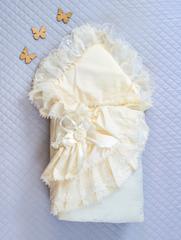 Конверт-одеяло Красотка айвори