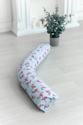 Подушка для беременных I170 (лебяжий пух) 10617 фламинго