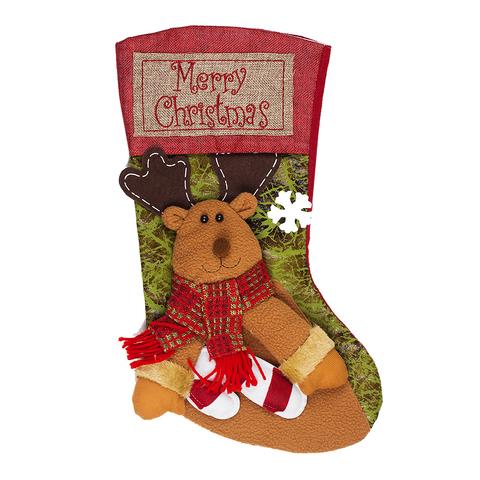 Носок для подарка Happy Deer