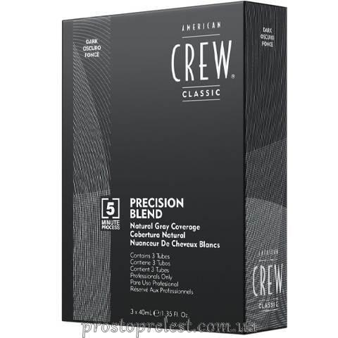 American Crew Precision Blend Dark - Система маскування сивини (рівень 2-3)