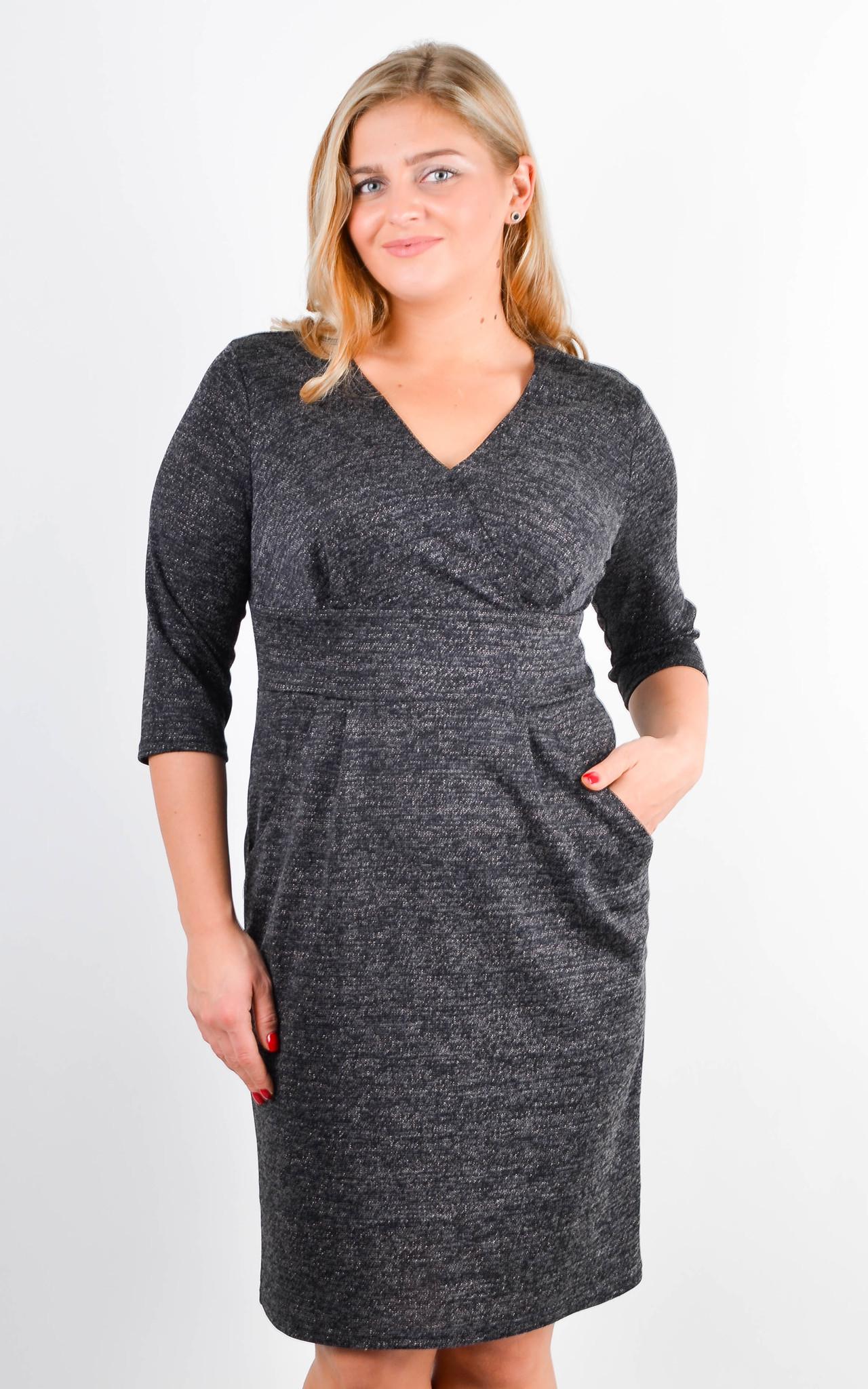 Платье Регина (графит)