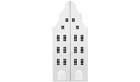 Шкаф-домик Амстердам -1 двустворчатый