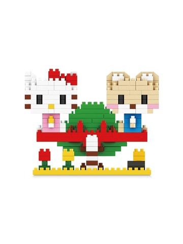 Конструктор Wisehawk & LNO серия Хеллоу Китти 301 деталь NO. 099 Hello Kitty mini blocks