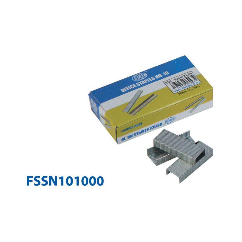 Канцтовары FIS Скобы для степлера FSSN101000 №10, 1000 штук.