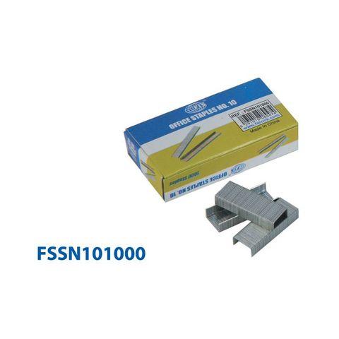 Канцтовары FIS Скобы для степлера FSSN101000 №10, 1000 штук. - купить в компании MAKtorg