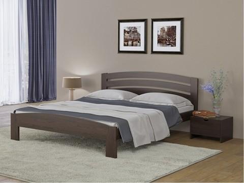 Кровать Веста 2 с основанием Венге