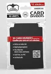 Card Dividers: Black