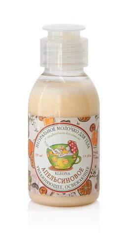 Натуральное молочко для тела «Апельсиновое»