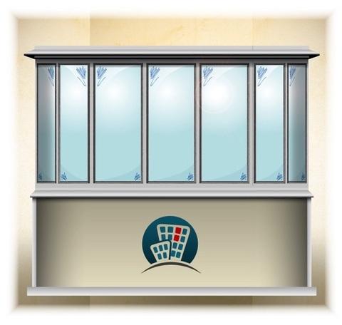полукруглый балкон