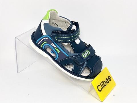 Clibee Z631 Blue/Green 21-26