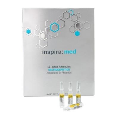 INSPIRA Ampoules: Двухфазная сыворотка для экспресс-восстановления кожи лица (Bi-Phase Ampoules Neurogenetics), 14*2мл/25*2мл