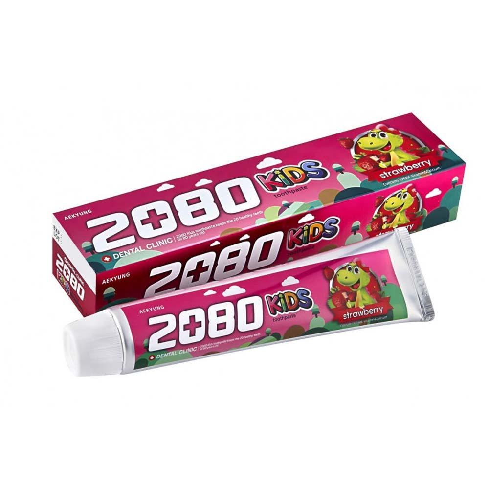 Детская зубная паста 2080 Клубника
