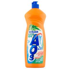 """Средство для мытья посуды """"АОS"""" Алоэ вера 900мл"""