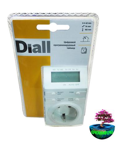 Цифровой программируемый таймер Diall