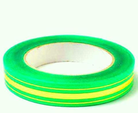 Лента золотая полоса BL (размер: 2 см х 50 ярдов) Цвет: салатовый