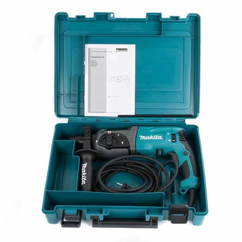 Перфоратор SDS-plus MAKITA HR2470 (780 Вт, 2,7Дж, 2,6кг, 3реж, кейс) (HR2470)