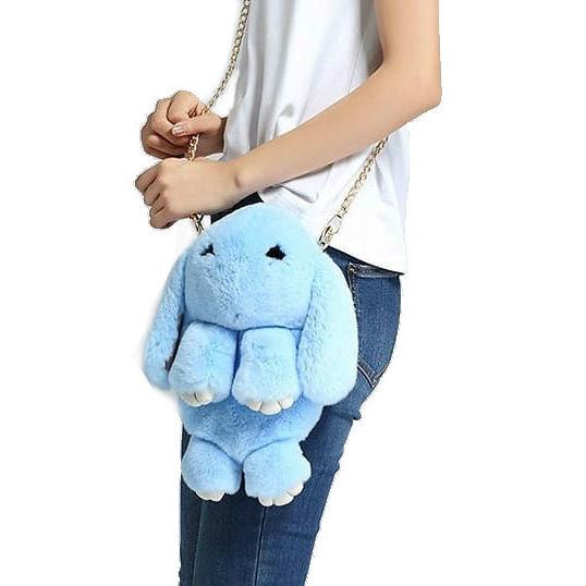 Хит продаж Сумка-рюкзак кролик (зайка) из натурального меха 4e834b9449381432e3d34f3661931b34.jpg