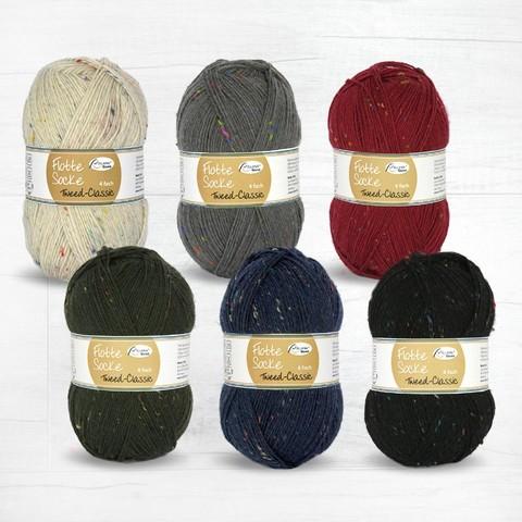 Rellana Flotte Socke Tweed Classic 6f 7080