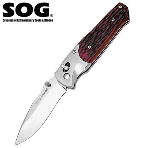 Нож SOG модель A-01 Arcitech Jigged Bone