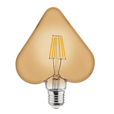 Светодиодная ретро лампа HEART 6W E27