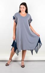 Нівея. Літня сукня для великих розмірів. Білий.