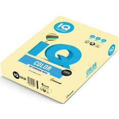Бумага цветная для офисной техники IQ Color желтая YE23 (А4, 80 г/кв.м, 500 листов)