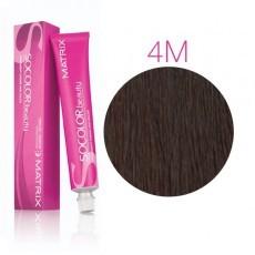 Matrix SOCOLOR.beauty: Mocha 4M шатен мокка, краска стойкая для волос (перманентная), 90мл