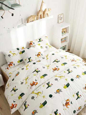Пододеяльник  -Корней- 2-спальный на молнии 175х215 см