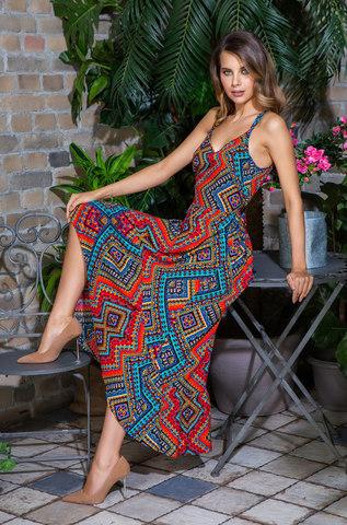 Платье сарафан  MIA-MIA Jana 16436 красный