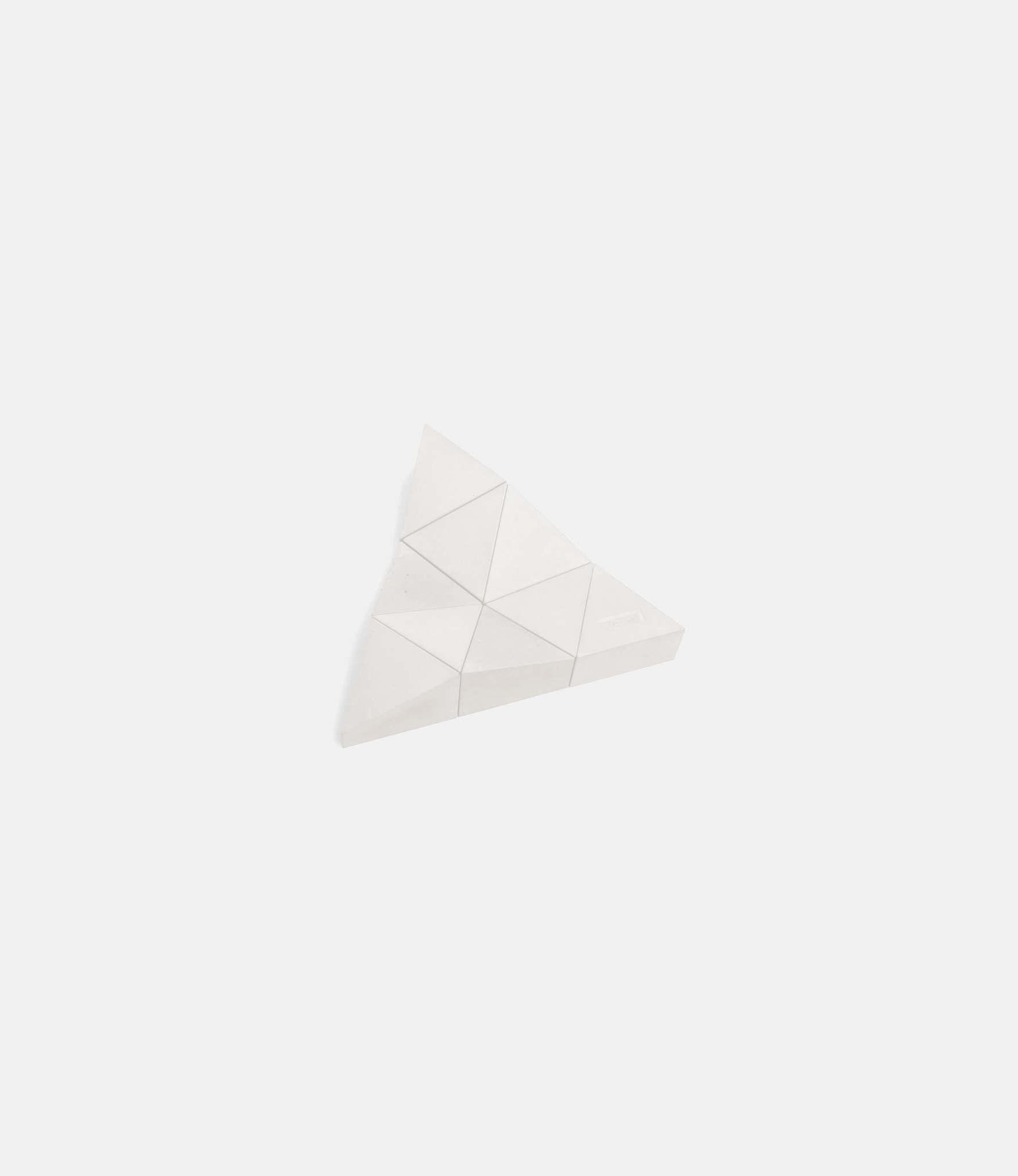 Logideez Logifaces Beginner Set Marble — пазл из бетона: белый мрамор