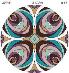 Эскиз для росписи, Круг диаметр-47,5см, SMAR-st-64